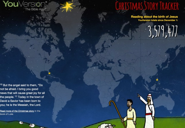 Christmas Tracker