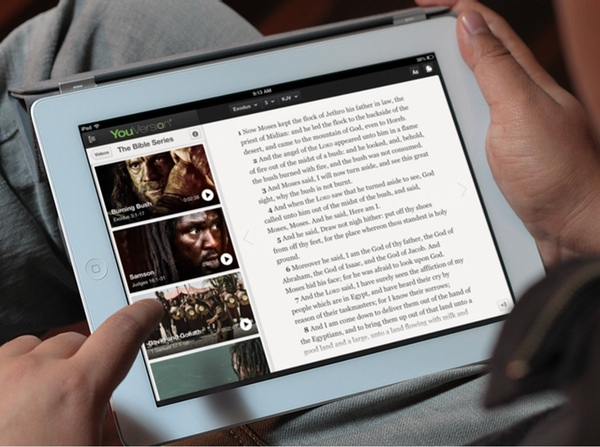 YouVersion on the iPad