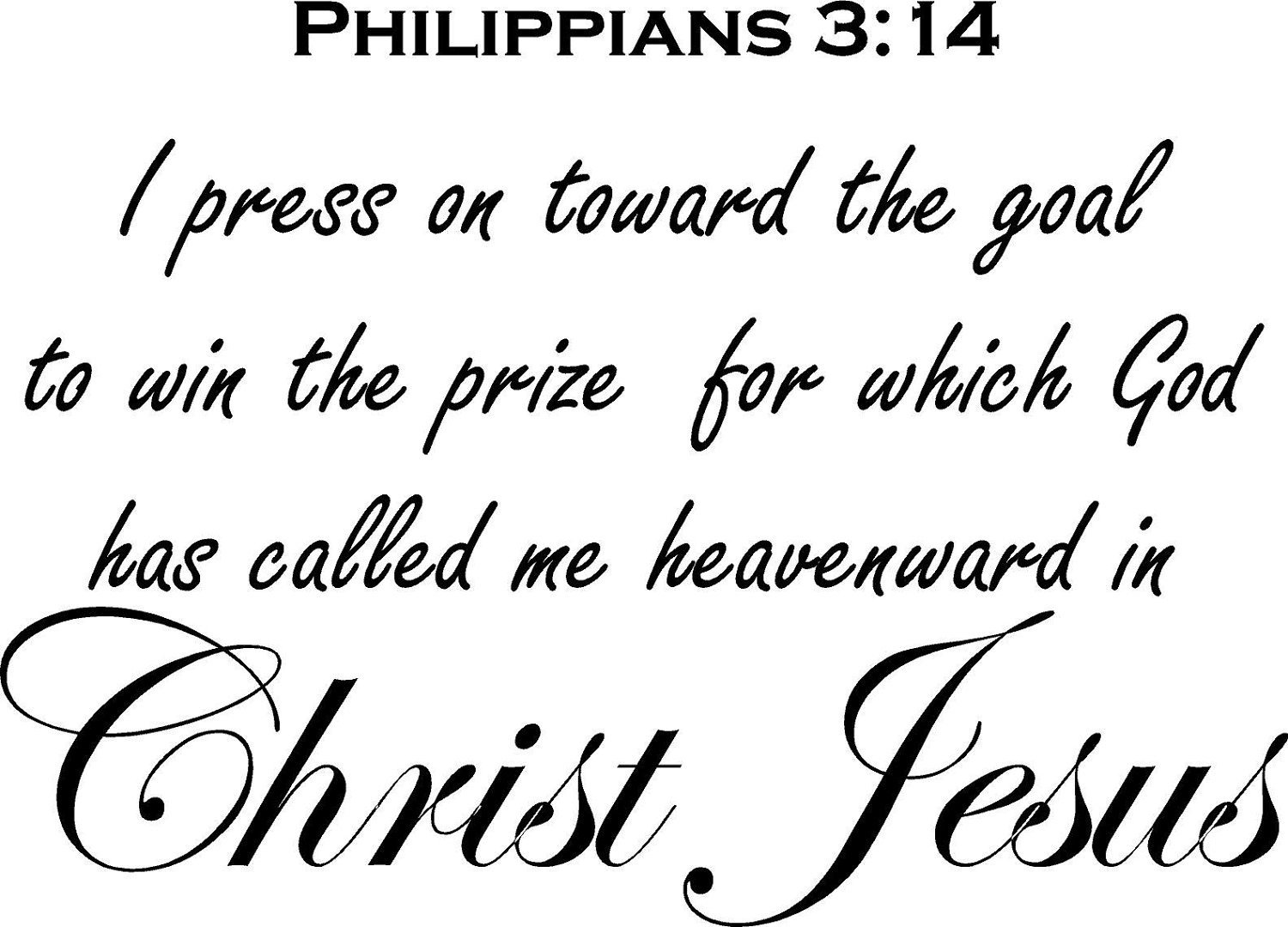Relationship Bible Quotes Today's Bible Verse  Philippians 314  News And Views