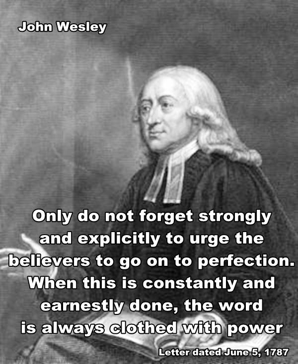 John Wesley Quote | News and Views