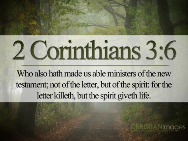 2Corinthians3-6