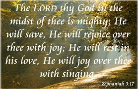 Zephaniah 3:17 | News and Views