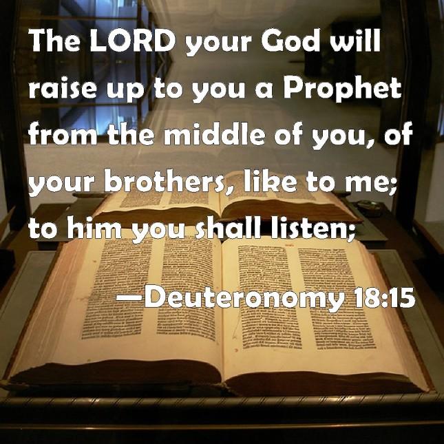 Deuteronomy18-15